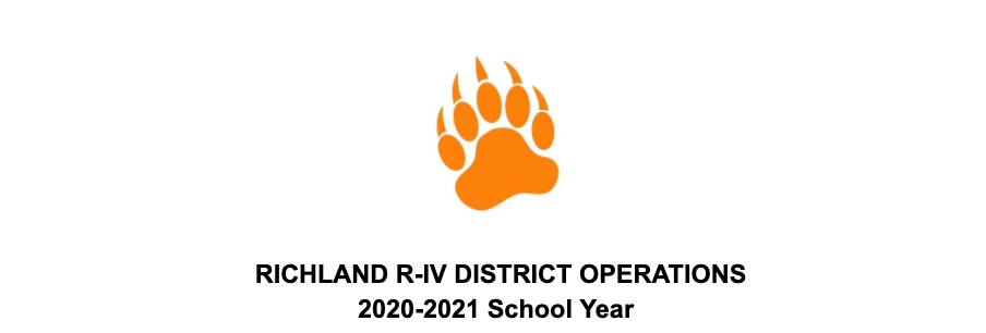 Richland R-IV Operations 2020-21