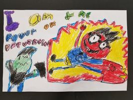 3rd grader wins art contest