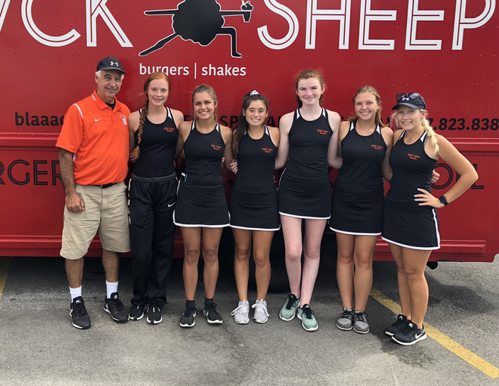 2018 Girls Varsity Tennis