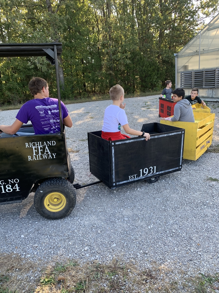 All aboard the Richland FFA Railway