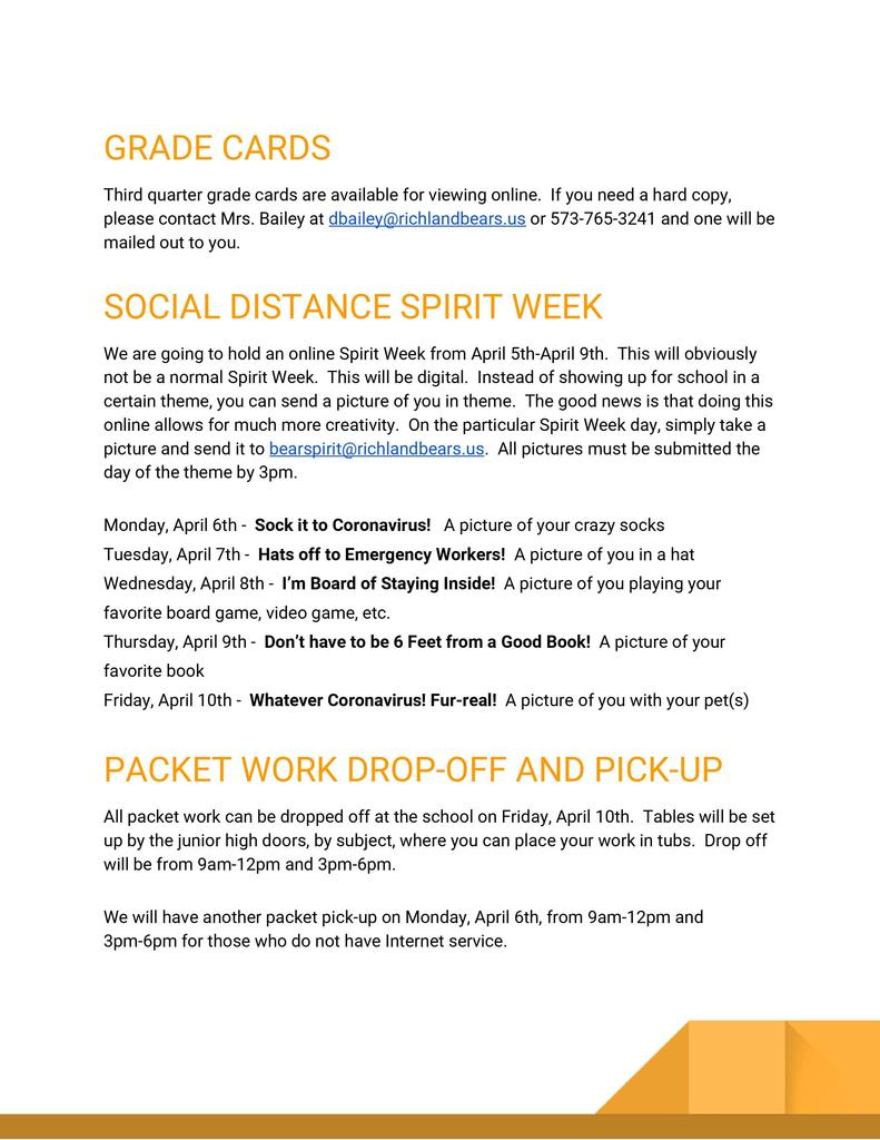Richland Newsletter 4